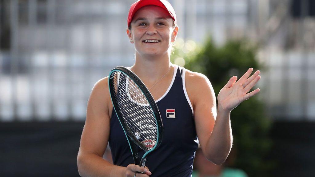 Ashleigh Barty Adelaide Champion 2020