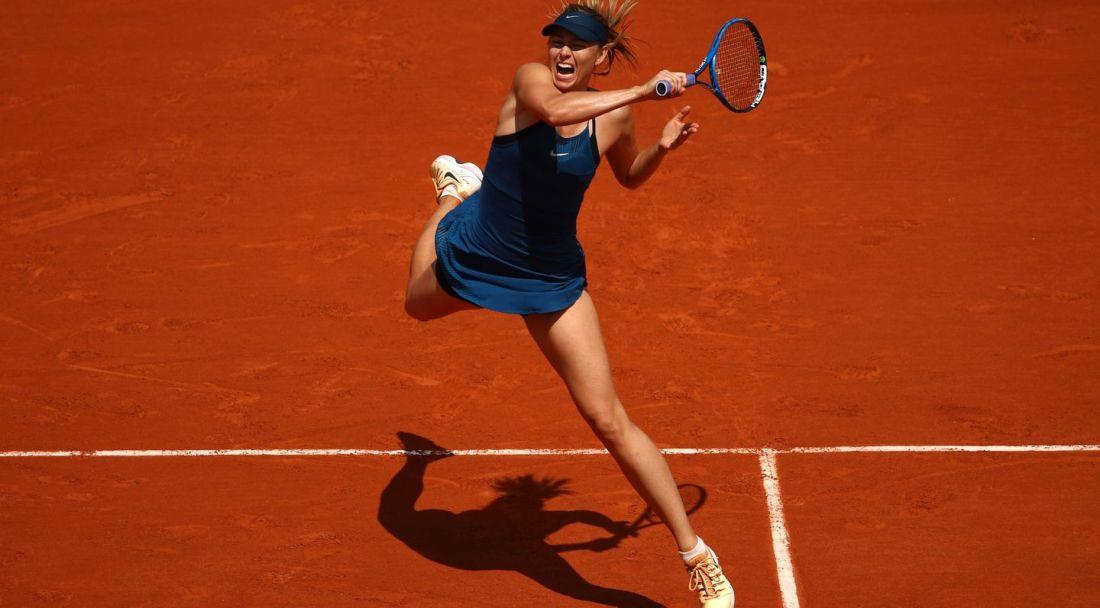 Sharapova Roland Garros