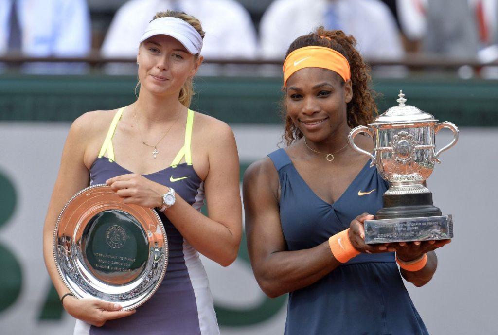 Sharapova Serena 2013 Roland Garros Final
