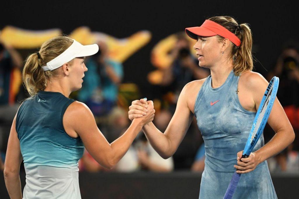 Sharapova Wozniacki Australian Open