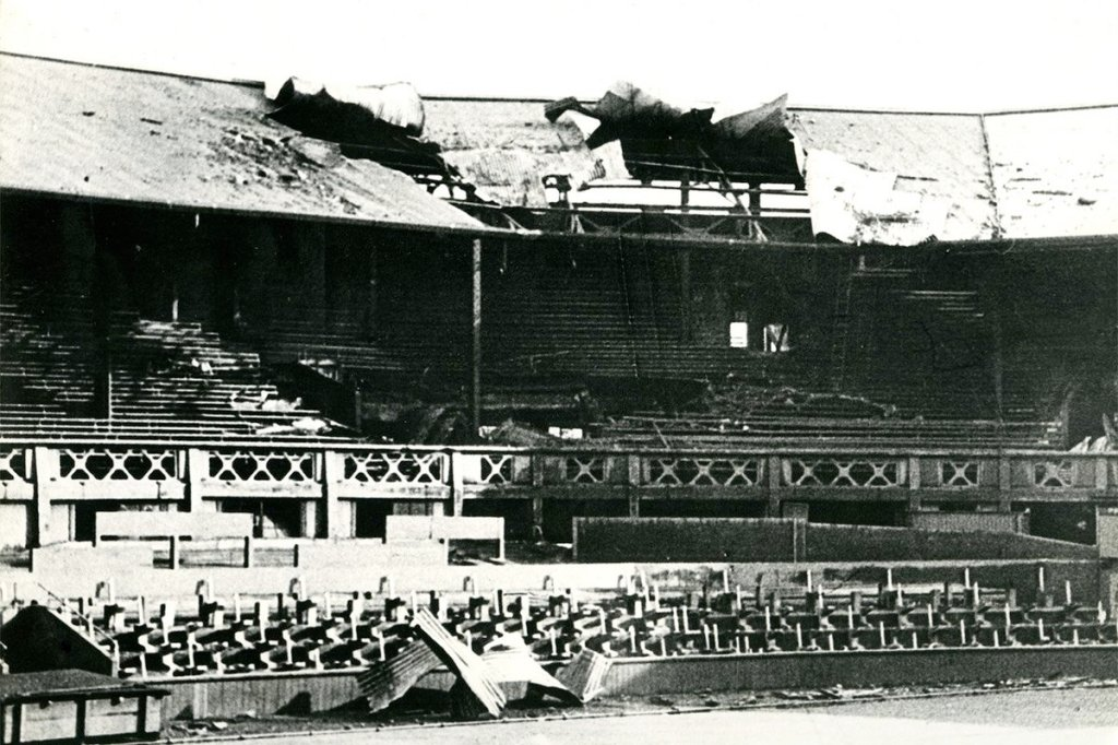 Wimbledon Centre Court 1940 Bombing